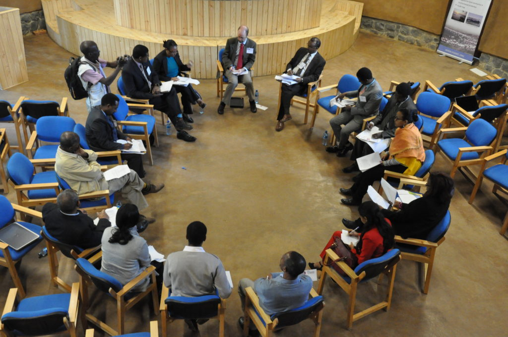 Facilitating a multi-stakeholder negotiation exercise among diplomats in Ethiopia